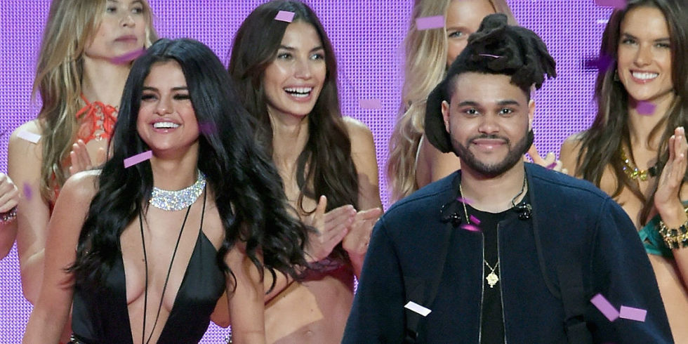 The Weeknd and Selena Gomez: Married w/ family or broken up for Bieber soon...depending on who you talk to. (Photo: Wikimedia)