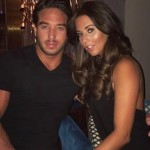 James and Yaz on a recent night out. (Photo: Twitter)
