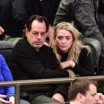 Ashley and former boyfriend Richard Sachs at a New York Knicks basketball game. (Photo: Twitter)