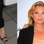 Kate Moss appears to be only air inside, with a puncture in one spot. (Photo: Twitter)