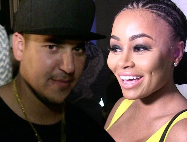 Rob Kardashian and Blac Chyna. (Photo: YouTube)