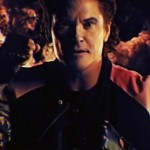 "Former Baywatch leading man David Hasselhoff in the music video ""True Survivor."" (Photo: YouTube)"