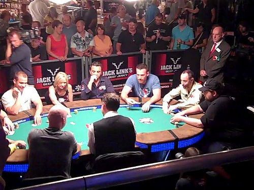 Ben Affleck and other familiar faces compete annually at the World Series of Poker. (Photo: Flickr)