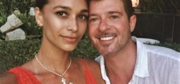 April Love Geary Instagram-Bombs Critics Of Her Relationship With Robin Thicke