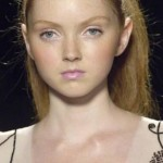 Lily Cole. (Photo: Twitter)