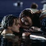Titanic - Why Didn't Jack Just Get On The Door? After Jack initial tries, he sinks the door and stays in the icy sea. It is likely that the door would not have been able to hold both their weight or that his added weight would have let the water level rise, leaving them both to freeze in it. (Photo: Archive)