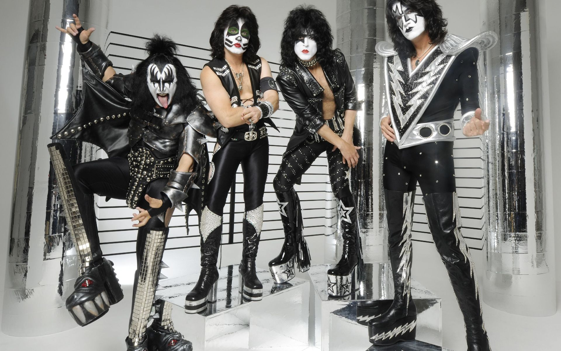 "KISS scored a hit with the country-pop ""Hard Luck Woman"" which was later covered by Garth Brooks. (Photo: Pinterest)"