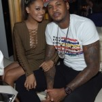 Carmelo and La La Anthony. (Photo: Twitter)