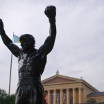 "The ""Rocky"" statue in Philadelphia. (Photo: Twitter)"