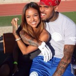 Chris Brown and Karrueche Tran. (Photo: Twitter)