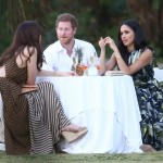 Prince Harry and Meghan Markle in Jamaica. (Photo: Twitter)