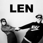"Len's album You Can't Stop The Bum Rush is mostly a bummer, but they're capable of a good song like ""Steal my Sunshine.""...now and Len. (Photo: Twitter)"