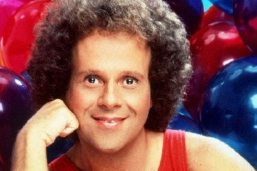 Richard Simmons Fights Off Paparazzi With The L.A. Fuzz