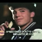 A young Ben Affleck in an ad for Burger King. (Photo: YouTube)