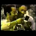 Morgan Freeman in a 1975 ad for Polaroid. (Photo: YouTube)