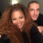 Janet Jackson and Wissam Al Mana. (Photo: Twitter)