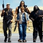 "Dalip Singh Rana, Glenn""Kane"" Jabobs, Mark Henry, Montel Porter, and Chris ""Jericho"" Irvine in ""MacGruber."" ((Photo: Twitter)"