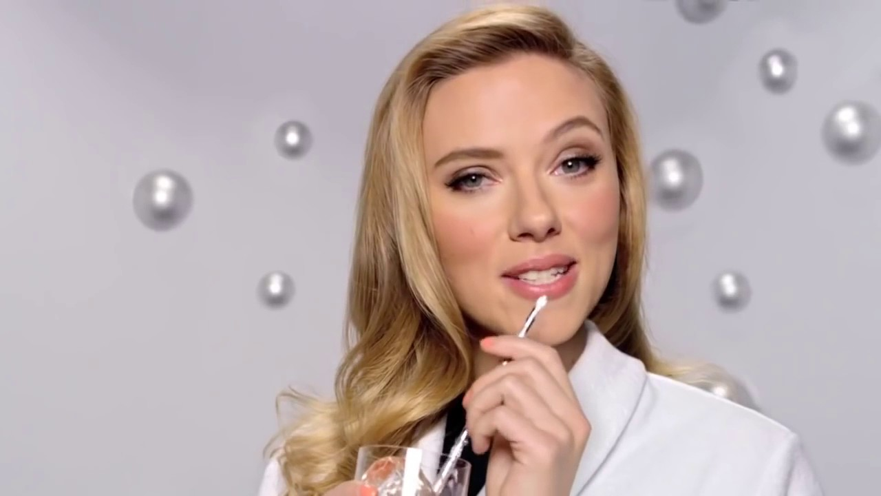 Scarlett Johansson in a sensual Super Bowl ad for SodaStream. (Photo: YouTube)