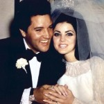 Elvis and Priscilla Presley as newlyweds. (Photo: Archive)