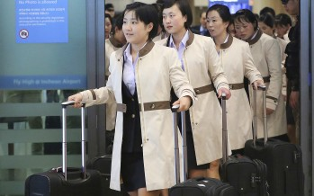 Say What You Will, These North Korean Ladies Know How To Dress For A Ceremony