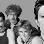 "Queen fumbled trying to adjust to a new aesthetic with 1980's Hot Space, but when David Bowie whanged in for ""Under Pressure,"" all was forgiven. (Photo: Twitter)"