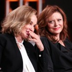 Could it be...nah. Or could it? Susan Sarandon and Jessica Lange. (Photo: Twitter)