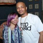 Tiny and T.I. celebrating a record release. (Photo: Twitter)