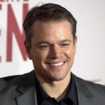 Matt Damon was a Harvard student until he quit to pursuit an acting career. On 2013, he received the Harvard Arts Medal. (Photo: Archive)