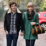 """13. Harry Styles also received """"Swift Treatment"""" with the song """"Out of the Woods."""" Taylor wrote the lyrics """"your necklace hanging from my neck"""" and """"two paper airplanes, flying, flying,"""" which makes us think she is talking about the paper airplane earring that Harry gave to Taylor. (Photo: Archive)"""