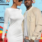 """21. Kanye West has released a few breakup songs about his ex-girlfriend Amber Rose. In his songs """"Runway"""" and """"Hell of a Life,"""" he refers to the tumultuous relationship he had with Rose. In an interview, Amber said that the songs talk about things that happened while they were still together. (Photo: Archive)"""