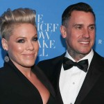 """7. Apparently, when Pink wrote the lyrics for her song """"So What,"""" she was not on good terms with her husband, Carey Hart. However, they have since reconciled, and he even appeared in the video for the song. (Photo: Archive)"""