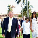 Enjoys Golf - Donald is an avid golfer and owns several golf courses of his own. Barron also enjoys the sport and is reportedly pretty good. Donald has indicated that Barron is a natural athlete and quite good at tennis as well as baseball. (Photo: Archive)