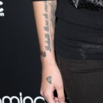 Cher Lloyd's Spanish Tattoo (Photo: Instagram)