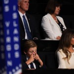 "He is raised solely by his parents. Unlike most billionaire children, Barron has not been brought up by nannies or other staff, but rather by his mother and father. In a 2015 interview with People, Donald revealed that he and Melania do not rely on outside help, saying: ""We keep it down to a minimum. If you have too much help, you don't get to know your children."" (Photo: Archive)"