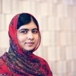 "3)""I raise up my voice—not so I can shout, but so that those without a voice can be heard...we cannot succeed when half of us are held back."" ―Malala Yousafzai (Photo: Archive)"