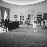 First Boy In The White House In Over 50 Years! It's hard to believe, but any kid living in the White House since the Kennedy administration has been a girl! Not since John F. Kennedy Jr., has a boy called the White House home. (Photo: Archive)
