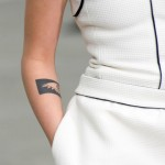 Kristen Stewart's art tattoo (Photo: Instagram)