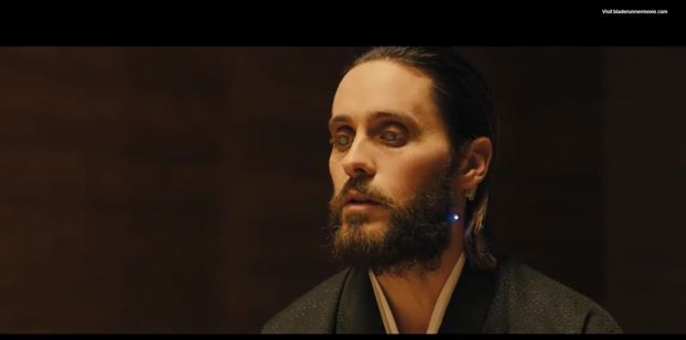 Screencap of Jared Leto from Blade Runner 2049 Trailer from Twitter (Photo: Twitter)