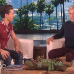 Tom Holland and Ellen DeGeneres (Photo: Release)