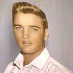 Elvis Presley was a natural blonde. (Photo: Archive)