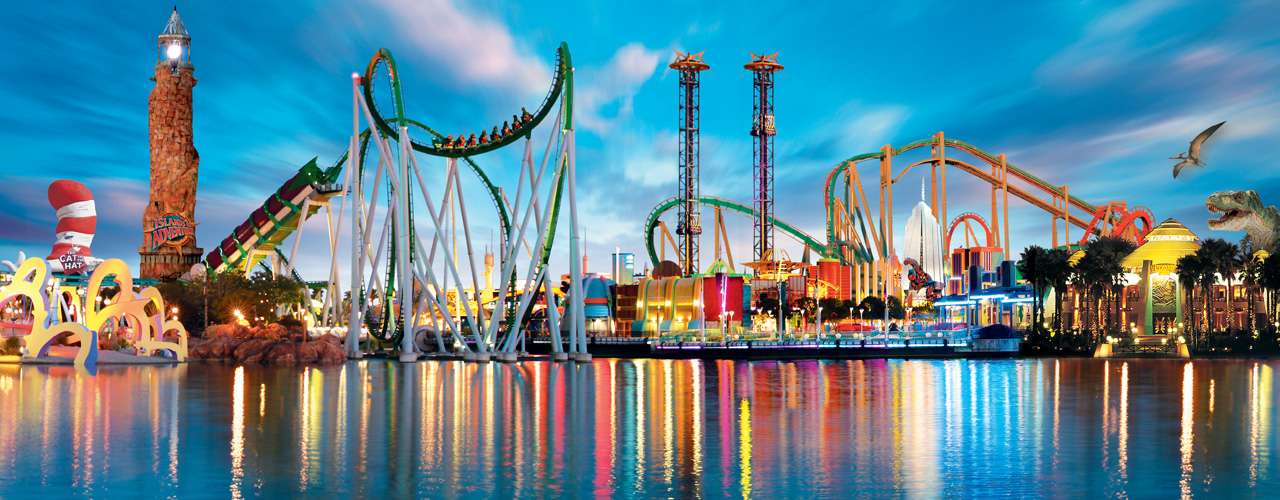 These are the 10 most ambitious themed parks of the near future—and some that opened just a few weeks ago. (Photo: Archive)