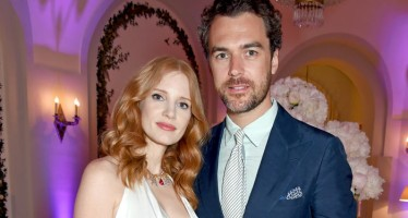 Jessica Chastain is now a married woman!