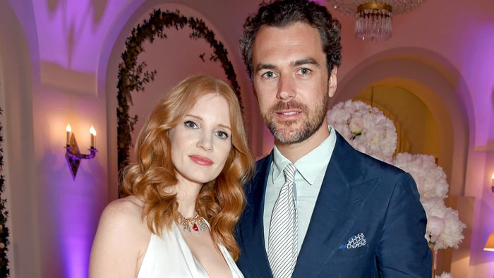 Jessica Chastain and Gian Luca Passi de Preposulo tied the knot in a private ceremony in Italy. (Photo: Archive)