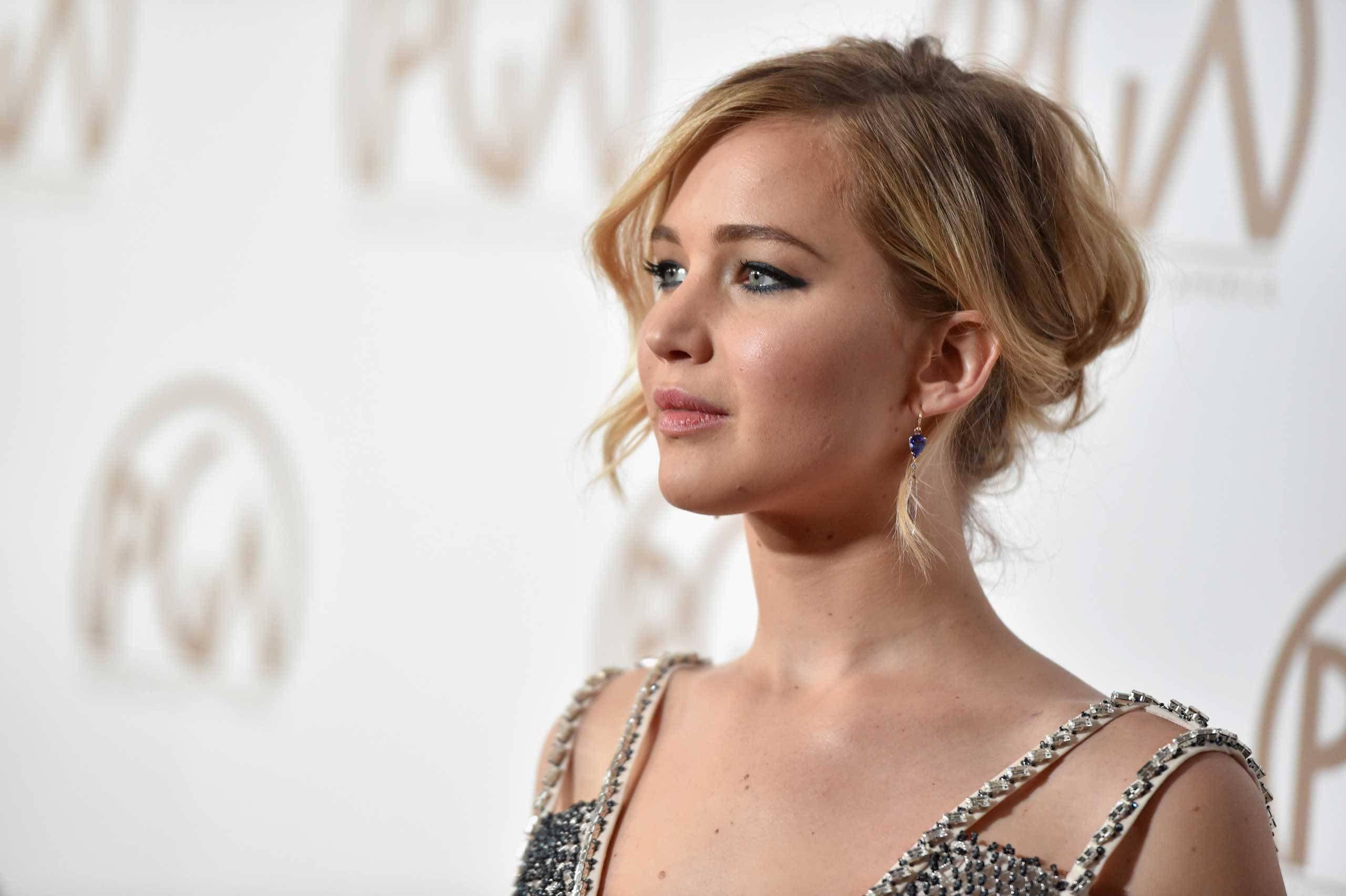 Jennifer Lawrence's private plane had to make an emergency landing after a double engine failure. (Photo: Archive)