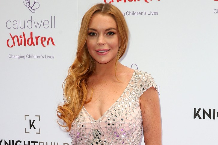 "Lindsay Lohan landed the role of Katerina West on the British sitcom ""Sick Note"". (Photo: Archive)"