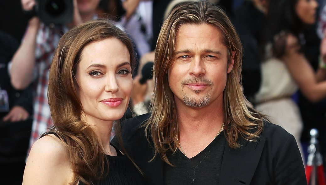 """Angelina Jolie and Brad Pitt, despite their fortune, will stick to catalogs. """"Brad and I were on Amazon.com for the first […] but we got lost. After an hour, we just shut it off. My brain is too scattered and the wires go in different directions."""" (Photo: Archive)"""