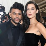 Bella Hadid thanked her ex, The Weekend, after he sang live in Victoria's Secret's fashion show last year. How civilized! (Photo: Archive)