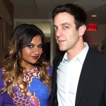 "Mindy Kaling and B.J. Novack played an on and off couple in the show ""The Office"", but their romance grew out of the screen. Although their relationship ended a while ago, the couple is still very close, both as friends as well as colleagues. (Photo: Archive)"