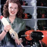 Before becoming Marilyn Monroe, Norma Jean Mortenson worked as a technician for Radioplane. While working at the factory, she was photographed at her workplace for a magazine article. Not even she knew that this moment would be Monroe's first step onto her modeling career. (Photo: Archive)