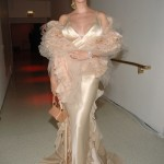 A head to toe champagne look for a ball in 2006. (Photo: Archive)